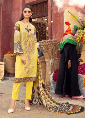Sanoor by Noor Fatima Embroidered Lawn Unstitched 3 Piece Suit SNO20M D-192 - Summer Collection