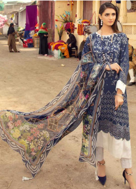 Sanoor by Noor Fatima Printed Lawn Unstitched 3 Piece Suit SNO20M D-194 - Summer Collection