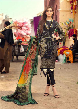 Sanoor by Noor Fatima Printed Lawn Unstitched 3 Piece Suit SNO20M D-196 - Summer Collection