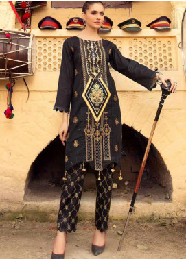 Sanoor by Noor Fatima Embroidered Lawn Unstitched 2 Piece Suit SNO20M D-223 - Summer Collection