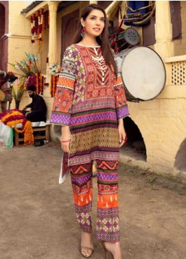 Sanoor by Noor Fatima Printed Lawn Unstitched 2 Piece Suit SNO20M D-224 - Summer Collection