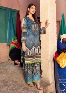 Sanoor by Noor Fatima Printed Lawn Unstitched 2 Piece Suit SNO20M D-225 - Summer Collection