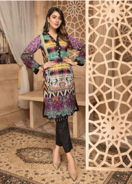 Sanoor by Noor Fatima Printed Lawn Unstitched Kurties SNO20M D-875 - Summer Collection