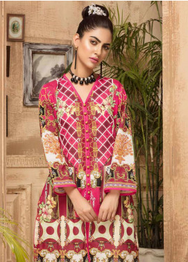 Sanoor by Noor Fatima Printed Lawn Unstitched Kurties SNO20M D-878 - Summer Collection