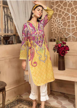 Sanoor by Noor Fatima Printed Lawn Unstitched Kurties SNO20M D-879 - Summer Collection