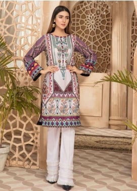 Sanoor by Noor Fatima Printed Lawn Unstitched Kurties SNO20M D-880 - Summer Collection