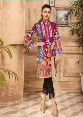 Sanoor by Noor Fatima Printed Lawn Unstitched Kurties SNO20M D-881 - Summer Collection