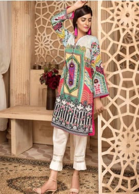 Sanoor by Noor Fatima Printed Lawn Unstitched Kurties SNO20M D-882 - Summer Collection