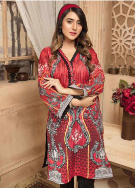 Sanoor by Noor Fatima Printed Lawn Unstitched Kurties SNO20M D-883 - Summer Collection