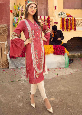 Sanoor by Noor Fatima Embroidered Lawn Unstitched Kurties SNO20M D-902 - Summer Collection
