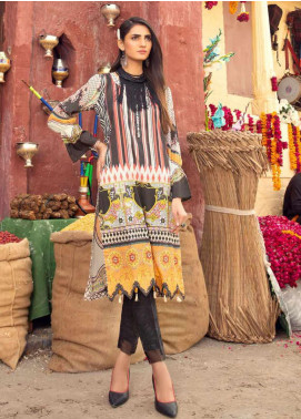 Sanoor by Noor Fatima Embroidered Lawn Unstitched Kurties SNO20M D-903 - Summer Collection