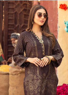 Sanoor by Noor Fatima Printed Lawn Unstitched Kurties SNO20M D-906 - Summer Collection