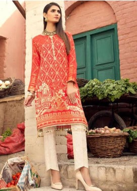 Sanoor by Noor Fatima Printed Lawn Unstitched Kurties SNO20M D-909 - Summer Collection