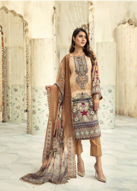 Sanoor by Noor Fatima Embroidered Linen Unstitched 3 Piece Suit SNO19-WE1 151 - Winter Collection