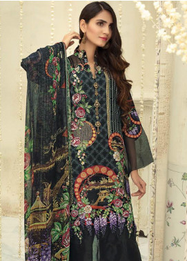 Sanoor by Noor Fatima Embroidered Linen Unstitched 3 Piece Suit SNO19-WE1 153 - Winter Collection