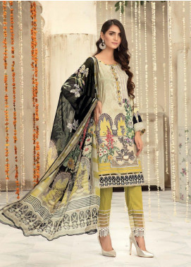 Sanoor by Noor Fatima Embroidered Linen Unstitched 3 Piece Suit SNO19-WE1 155 - Winter Collection
