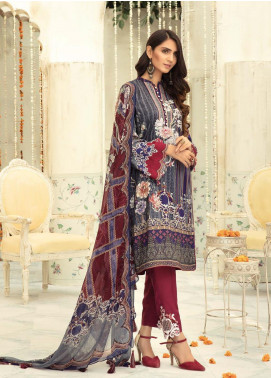 Sanoor by Noor Fatima Embroidered Linen Unstitched 3 Piece Suit SNO19-WE1 156 - Winter Collection