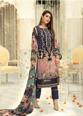 Sanoor by Noor Fatima Embroidered Linen Unstitched 3 Piece Suit SNO19-WE1 157 - Winter Collection
