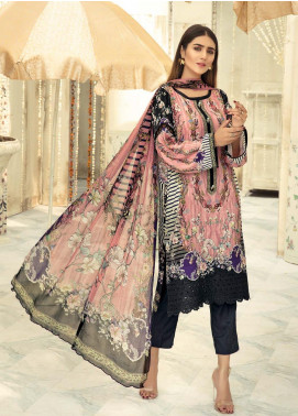 Sanoor by Noor Fatima Embroidered Linen Unstitched 3 Piece Suit SNO19-WE1 158 - Winter Collection
