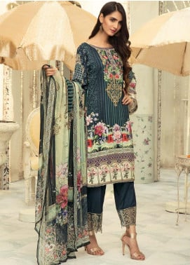 Sanoor by Noor Fatima Embroidered Linen Unstitched 3 Piece Suit SNO19-WE1 159 - Winter Collection