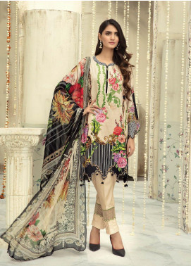 Sanoor by Noor Fatima Embroidered Linen Unstitched 3 Piece Suit SNO19-WE1 160 - Winter Collection