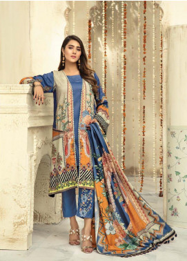 Sanoor by Noor Fatima Embroidered Linen Unstitched 3 Piece Suit SNO19-WE1 161 - Winter Collection