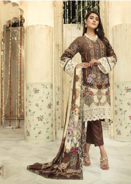 Sanoor by Noor Fatima Embroidered Linen Unstitched 3 Piece Suit SNO19-WE1 162 - Winter Collection