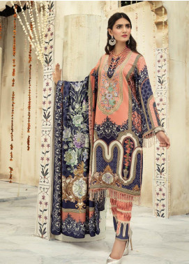 Sanoor by Noor Fatima Embroidered Linen Unstitched 3 Piece Suit SNO19-WE1 163 - Winter Collection