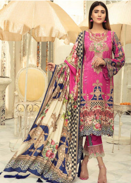 Sanoor by Noor Fatima Embroidered Linen Unstitched 3 Piece Suit SNO19-WE1 164 - Winter Collection