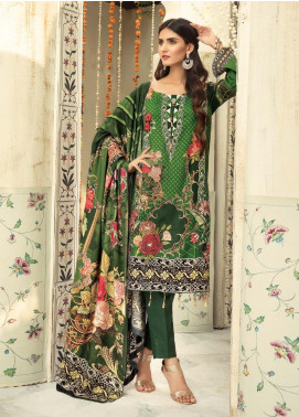 Sanoor by Noor Fatima Embroidered Linen Unstitched 3 Piece Suit SNO19-WE1 165 - Winter Collection