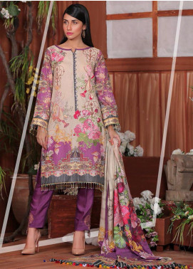 Sanoor by Noor Fatima Embroidered Karandi Unstitched 3 Piece Suit SNO19-W2 168 - Winter Collection