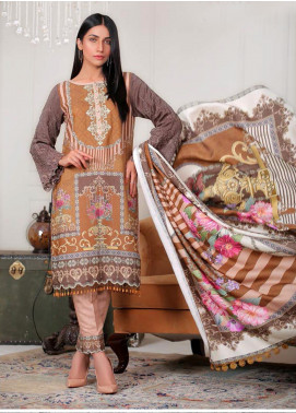Sanoor by Noor Fatima Embroidered Karandi Unstitched 3 Piece Suit SNO19-W2 169 - Winter Collection
