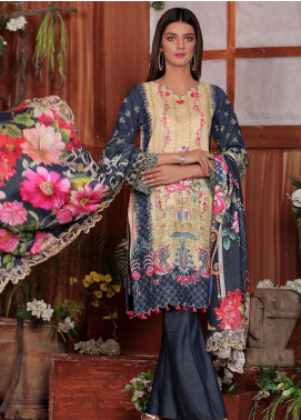 Sanoor by Noor Fatima Embroidered Karandi Unstitched 3 Piece Suit SNO19-W2 170 - Winter Collection