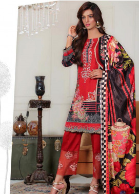 Sanoor by Noor Fatima Embroidered Khaddar Unstitched 3 Piece Suit SNO19-W2 173 - Winter Collection