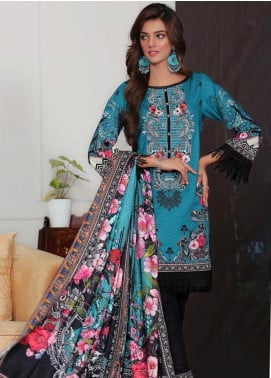 Sanoor by Noor Fatima Embroidered Khaddar Unstitched 3 Piece Suit SNO19-W2 174 - Winter Collection
