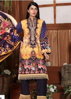 Sanoor by Noor Fatima Embroidered Khaddar Unstitched 3 Piece Suit SNO19-W2 175 - Winter Collection