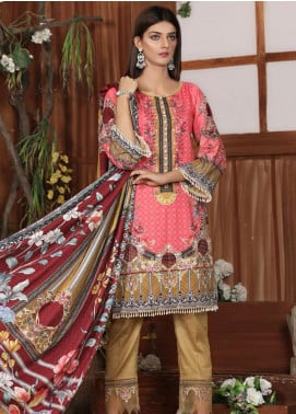 Sanoor by Noor Fatima Embroidered Khaddar Unstitched 3 Piece Suit SNO19-W2 176 - Winter Collection