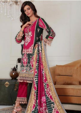 Sanoor by Noor Fatima Embroidered Khaddar Unstitched 3 Piece Suit SNO19-W2 177 - Winter Collection