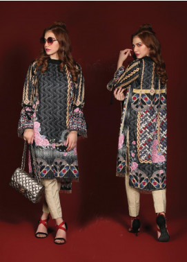 Sanoor by Noor Fatima Printed Linen Unstitched Kurties SNO19W 885 - Winter Collection
