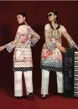 Sanoor by Noor Fatima Printed Linen Unstitched Kurties SNO19W 886 - Winter Collection