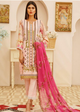 Sanoor by Noor Fatima Embroidered Linen Unstitched 3 Piece Suit SN20W 229 - Winter Collection