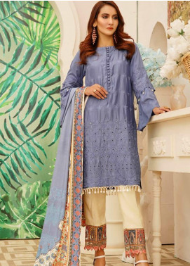 Sanoor by Noor Fatima Embroidered Linen Unstitched 3 Piece Suit SN20W 231 - Winter Collection