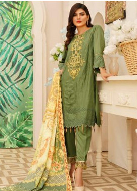 Sanoor by Noor Fatima Embroidered Linen Unstitched 3 Piece Suit SN20W 232 - Winter Collection