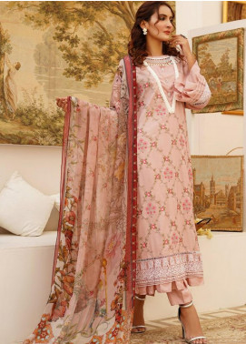 Sanoor by Noor Fatima Embroidered Linen Unstitched 3 Piece Suit SN20W 233 - Winter Collection