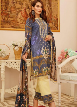 Sanoor by Noor Fatima Embroidered Khaddar Unstitched 3 Piece Suit SN20W 236 - Winter Collection