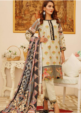 Sanoor by Noor Fatima Embroidered Khaddar Unstitched 3 Piece Suit SN20W 238 - Winter Collection