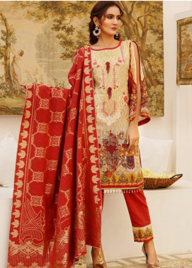 Sanoor by Noor Fatima Embroidered Khaddar Unstitched 3 Piece Suit SN20W 239 - Winter Collection