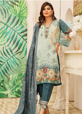 Sanoor by Noor Fatima Embroidered Khaddar Unstitched 3 Piece Suit SN20W 240 - Winter Collection