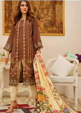 Sanoor by Noor Fatima Embroidered Karandi Unstitched 3 Piece Suit SN20W 243 - Winter Collection