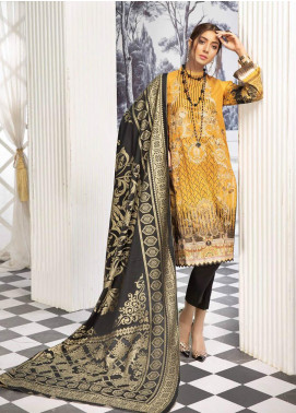 Sanoor by Noor Fatima Digital Printed Lawn Unstitched 3 Piece Suit SN20P D-198 - Spring / Summer Collection